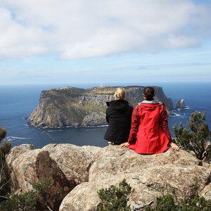 Ten amazing 'Wilderwomen' and the dramatic landscape on the edge of the world - Three Capes Track, Tasmania