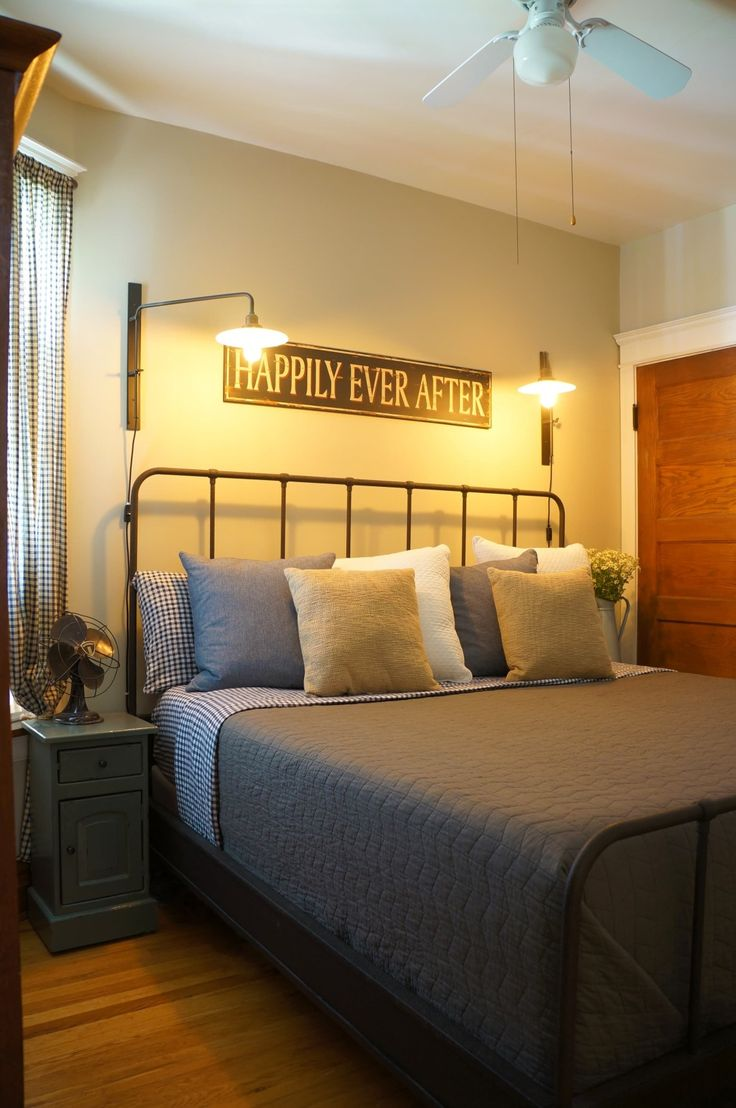 Decor Shopping Sources for Cozy Farmhouse Vibes | Industrial bed ...