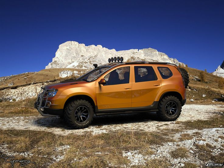 """Dacia Duster - Tuning """"The Dacia Duster project was born out of the simple…"""