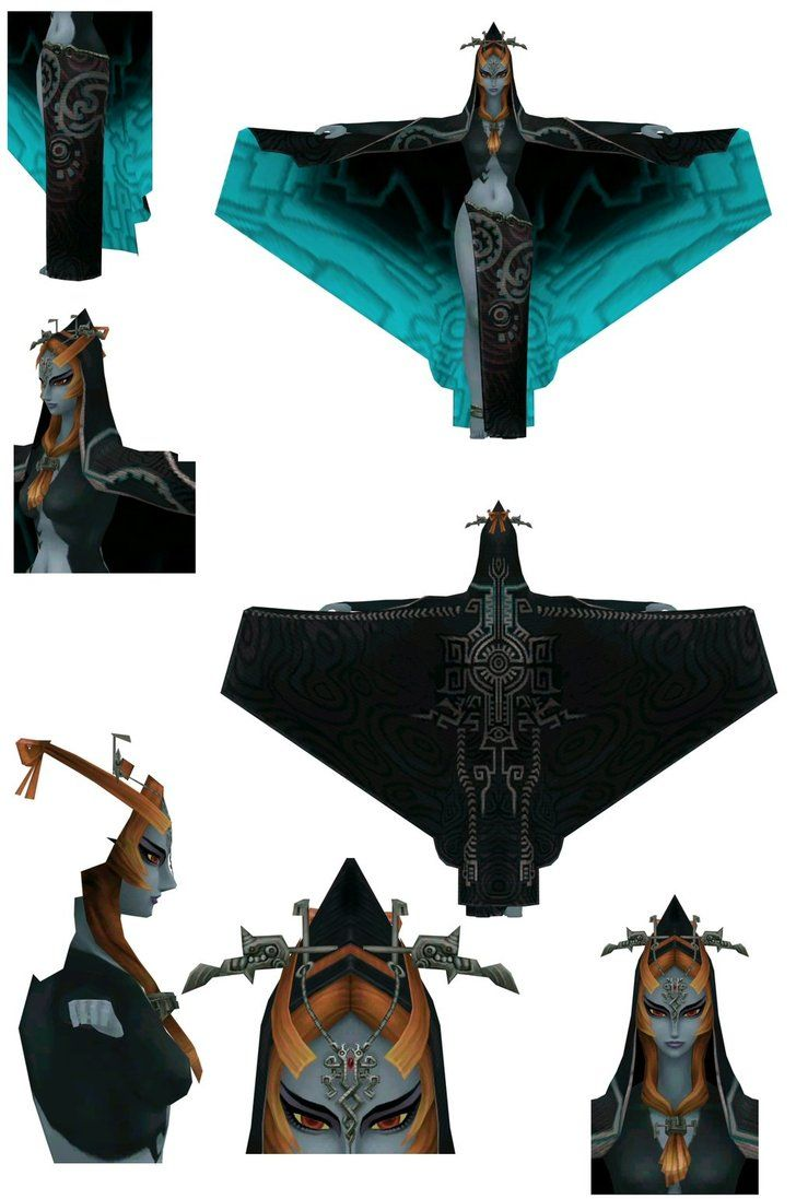 14 best Midna images on Pinterest | Cosplay tutorial, Twilight ...