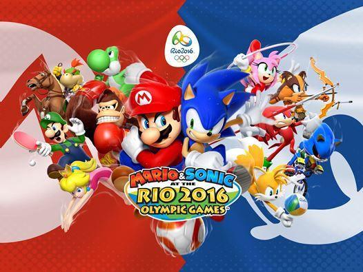 Mario & Sonic bei den Olympischen Spielen - Rio 2016 - http://www.weltenraum.at/mario-sonic-bei-den-olympischen-spielen-rio-2016/