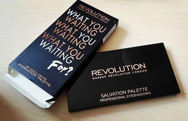 Paleta Makeup Revolution Worauf wartest du?   – Przepięknik blog