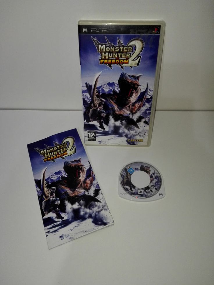 MONSTER HUNTER FREEDOM 2 - PSP - Usato come Nuovo! *OFFERTA*