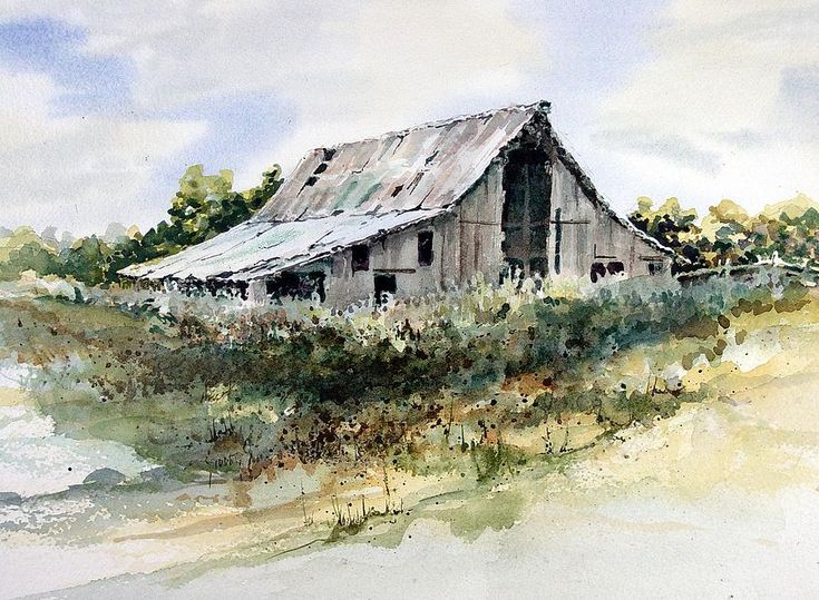Barn Painting by Sam Sidders - Barn Fine Art Prints and Posters for Sale