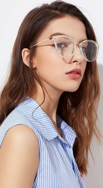 44b3751aa9 Clear Glasses Frame For Women s Fashion Ideas  Transparent  Eyeglass (11)