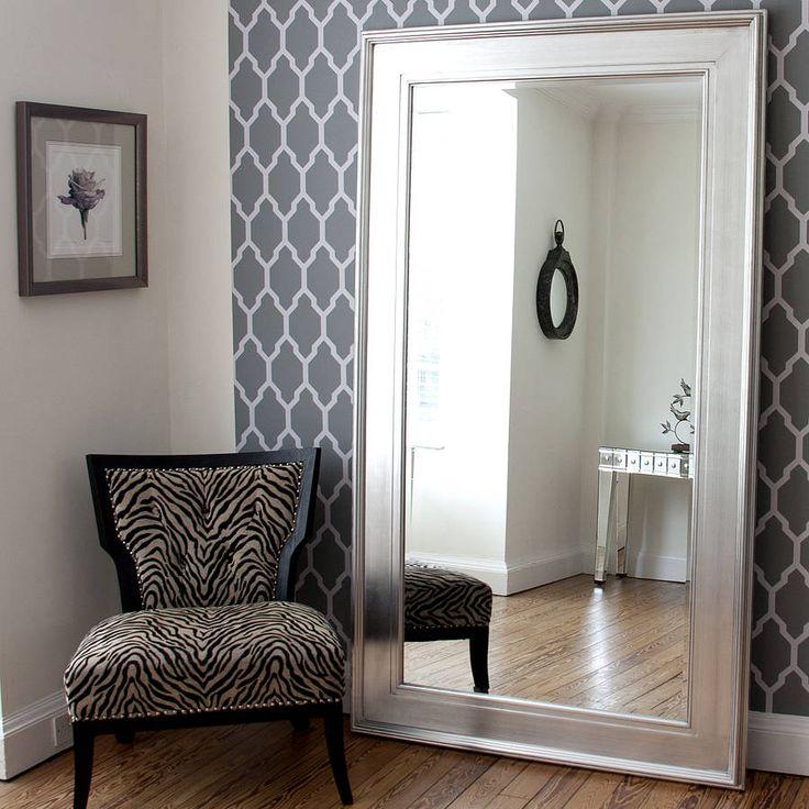 Best 25+ Silver framed mirror ideas on Pinterest | Large floor ...