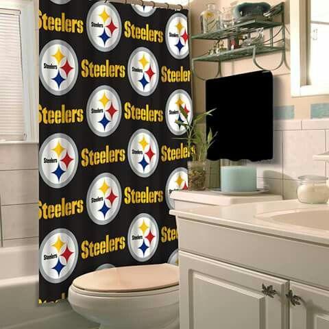 Steelers Downstairs Bathroom