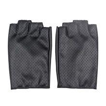 LongKeeper Дамы Кожаные Перчатки Без Пальцев Перчатки для Dance Party Показать Спорт Фитнес Luvas Женщин Черный Дышащий Варежки G147(China (Mainland))