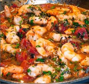 Shrimp Marinara Recipe (Shrimp with Tomato Sauce) | from Teri's Kitchen