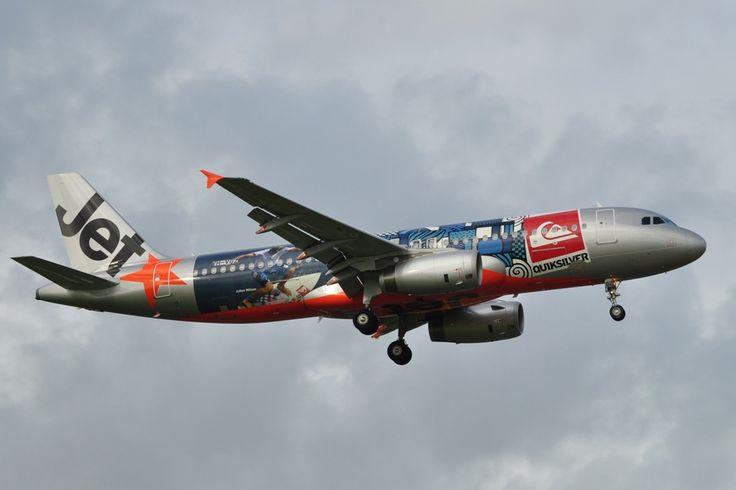 Jetstar Airways Australia Airbus A320-232 (Quicksilver)