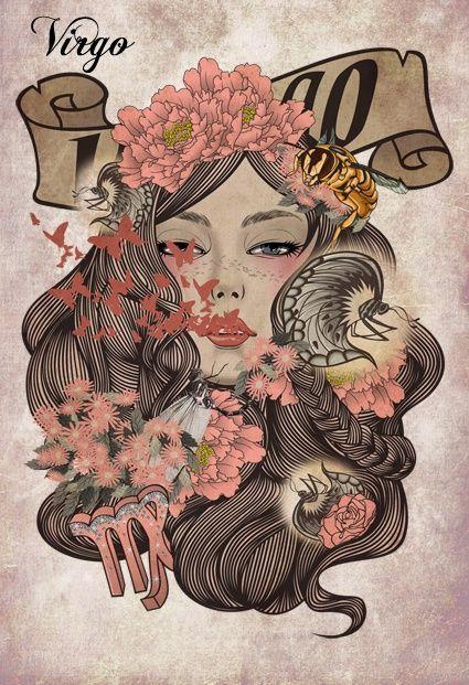 Josephine Wall: Virgo (Blank Sketch Book) (Luxury Sketch Books)