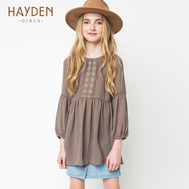 Special price HAYDEN Bohemia teenage girls dress summer sundresses vintage costumes children clothing 8 10 12 years girls clothes fancy frocks just only $15.56 with free shipping worldwide #girlsclothing Plese click on picture to see our special price for you