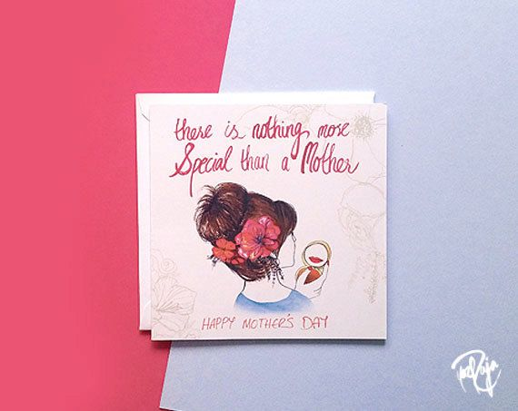CLEARANCE - Special Mother's Day Card with White envelope