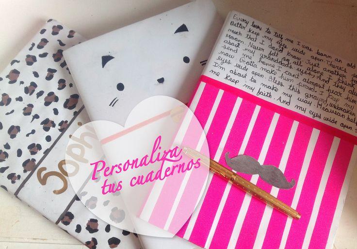 Personaliza tus cuadernos - Sophie Giraldo - YouTube