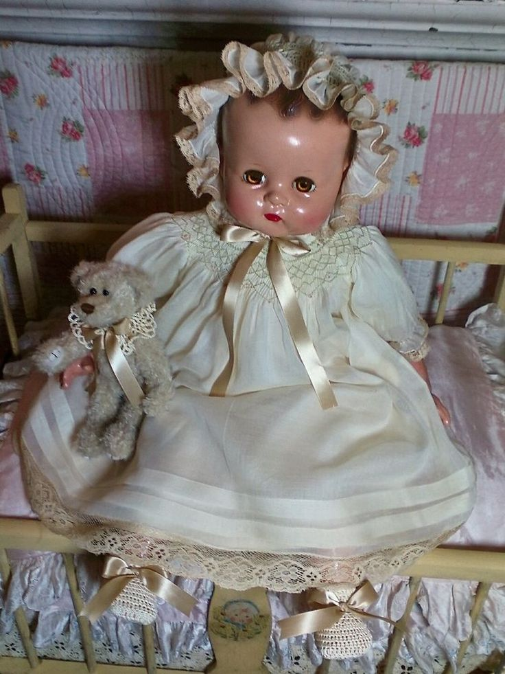 "Vintage Ideal 24"" Baby Doll 