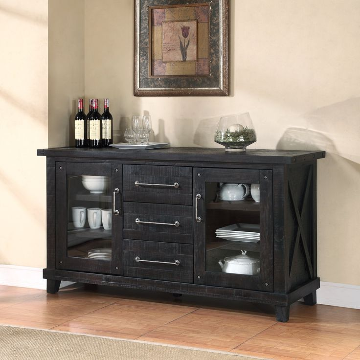 Have to have it. Modus Yosemite Solid Wood Sideboard - Cafe - $999.99 @hayneedle