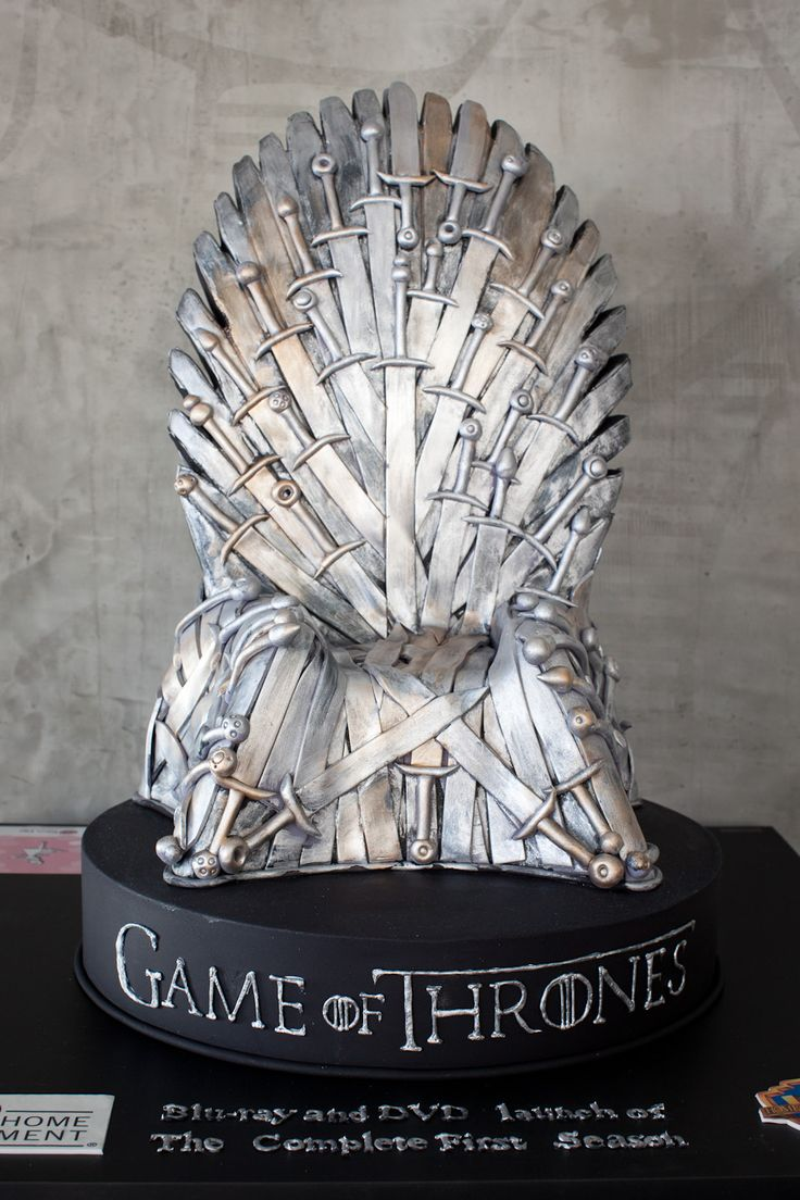 Winter is coming, so fatten up with some Game of Thrones Cake!