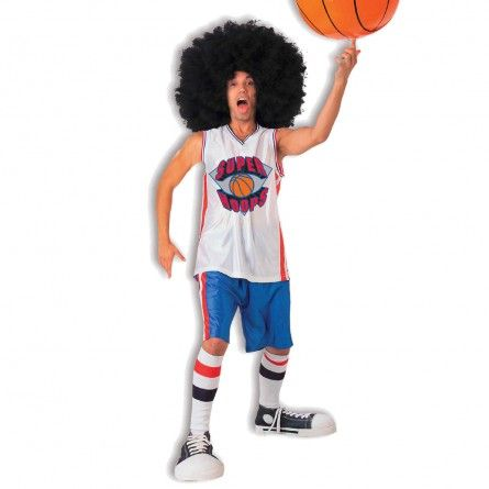 Afro Basketball Star Sports Costume
