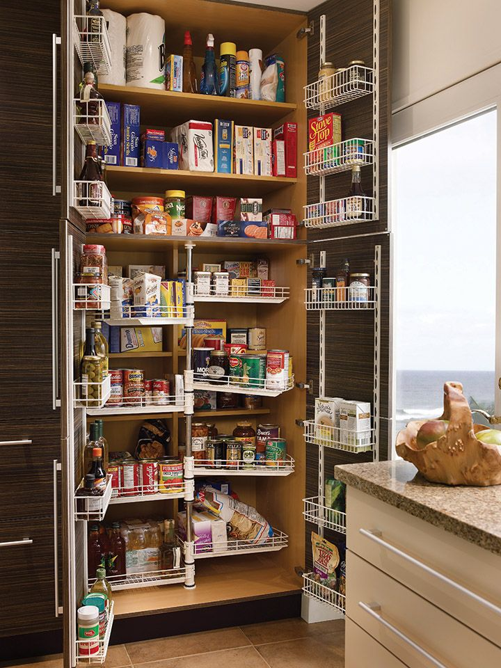 Awesome Pantry Design Ideas For Small Kitchen