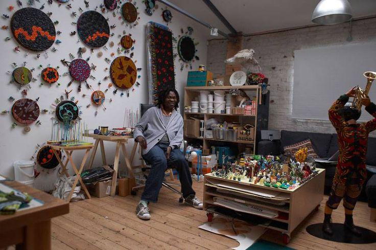 Yinka Shonibare studio