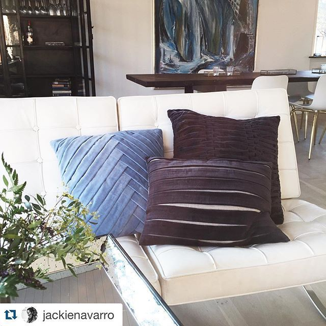 A repost from sweet @jackienavarro who loves her new Cushions from www.tobeliving.eu