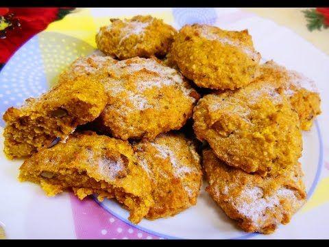 Тыквенно-Овсяное Печенье, Тыквенное Печенье без Яиц, Еда в Пост - YouTube