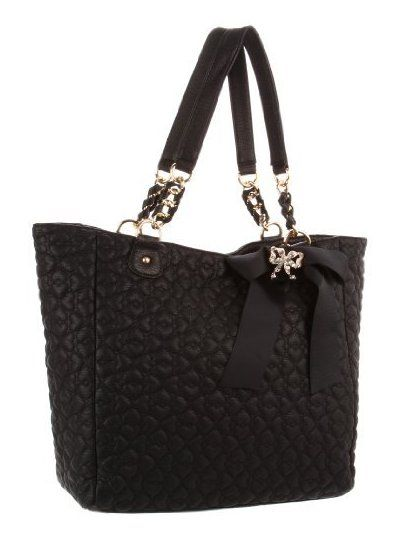 Betsey Johnson Purses | 122811504-400x540-0-0_betsey+johnson+betsey+johnson+quilted+love+tote ...
