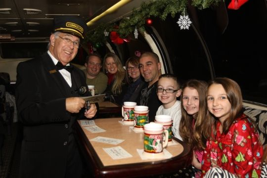 The Polar Express Train Ride Saratoga & Northcreek Railway - Saratoga Springs is a short train ride from the city - Kid Friendly Activity Reviews on Trekaroo