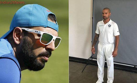 'Wear your shoes,' Punjabi boys Yuvraj Singh and Shikhar Dhawan's banter on Twitter