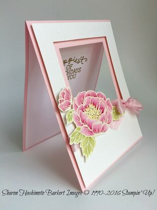 Birthday Blooms wSquare frames side