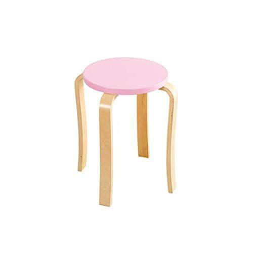 Astounding Star Life Stackable Solid Wood Stool Backless Round Top Inzonedesignstudio Interior Chair Design Inzonedesignstudiocom