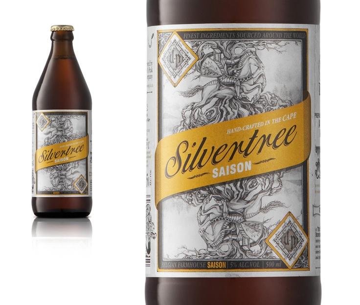 Devil's Peak Beer Branding - Silvertree