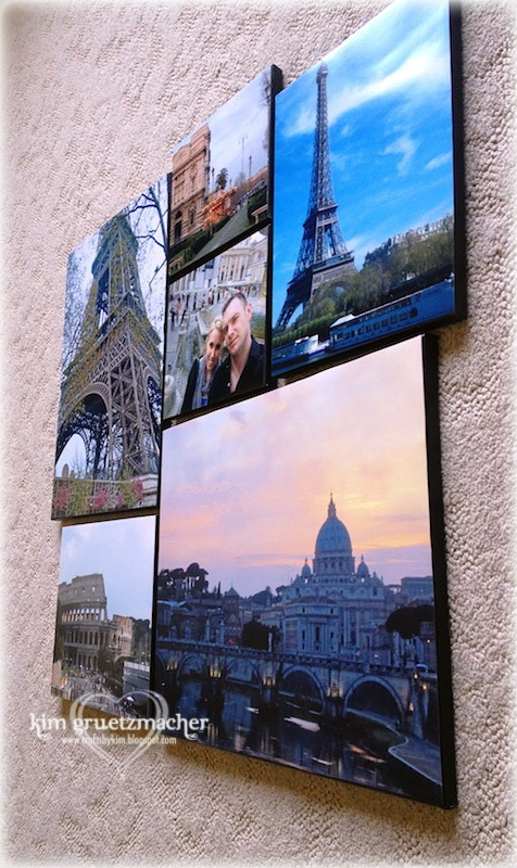 Pinterest Project #1 - Complete - D.I.Y. Photo Canvas Collage of my Sister's European Trip: Canvas Photos, Pinterest Projects, Collage Ideas, D I I, Canvases Collages, Photo Canvas, Diy Photo Collage Canvas, European Trips, Canvas Collage