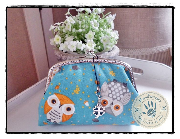 Doctor Owl purse, 15 cm by ManoFactured on Etsy