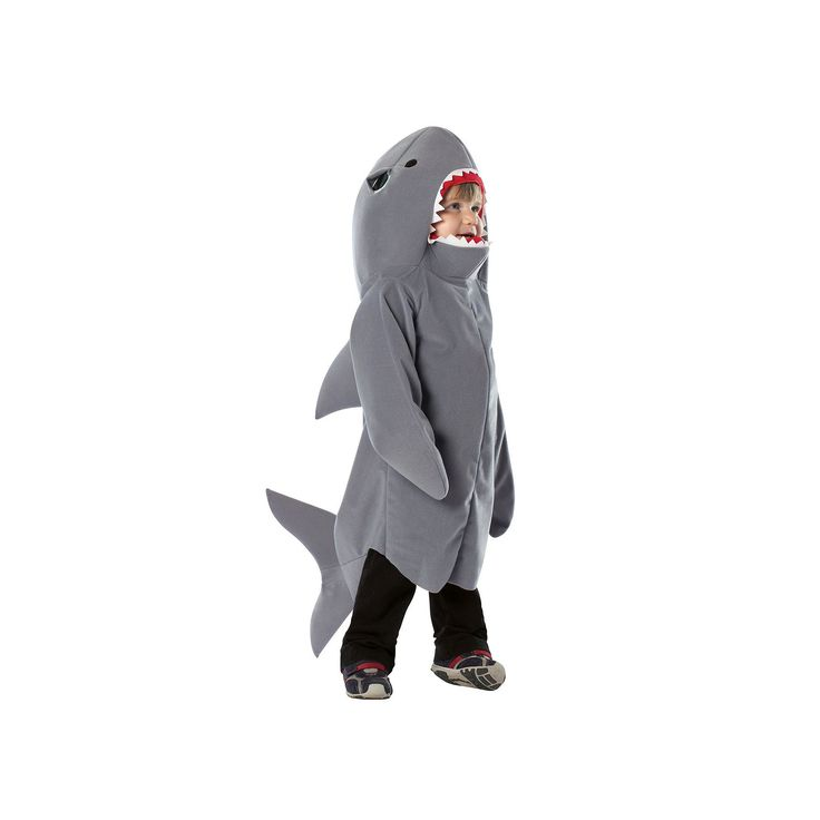 Baby Shark Costume, Infant Unisex, Size: 18-24MONTH, Grey