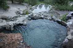 Sibley Park in Mankato, Minnesota has the largest area (17 acres) covered by hot springs in the world.