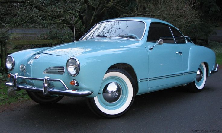 Blue Karmann Ghia