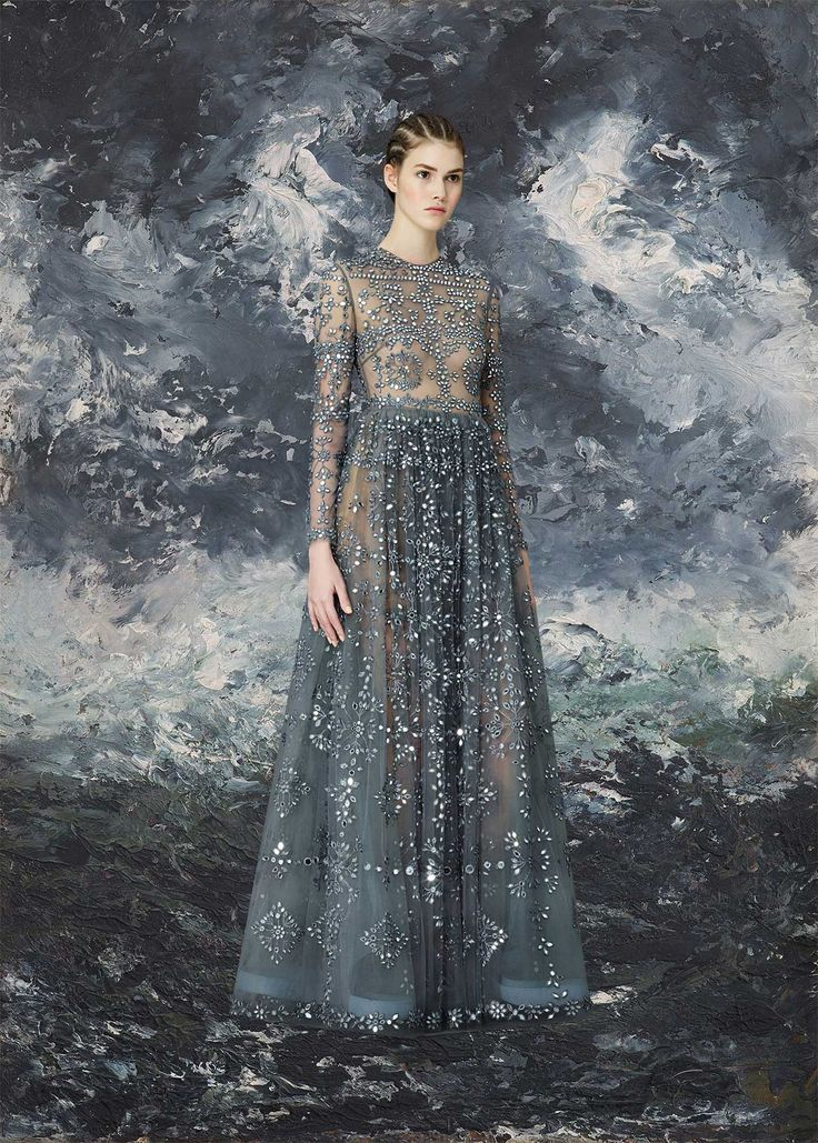 sometimes i like to imagine that Valentino create collections just for me. i picture the entire...