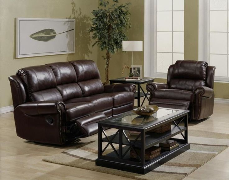 Recliner Sofa PA Collection Luca Leather Reclining Sofa u Set Leather Furniture Expo