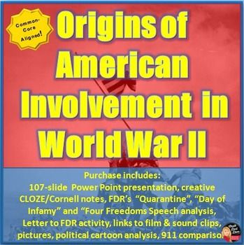 Americas Involvement in World War Two