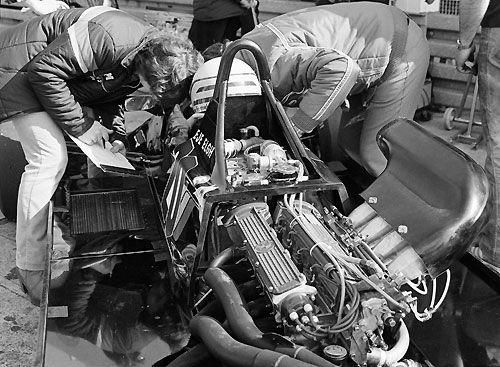 BMW F2 Engine 1980