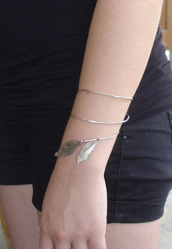 BRACELET  handmade silver bracelet OLIVE by Vroullis on Etsy, €63.00