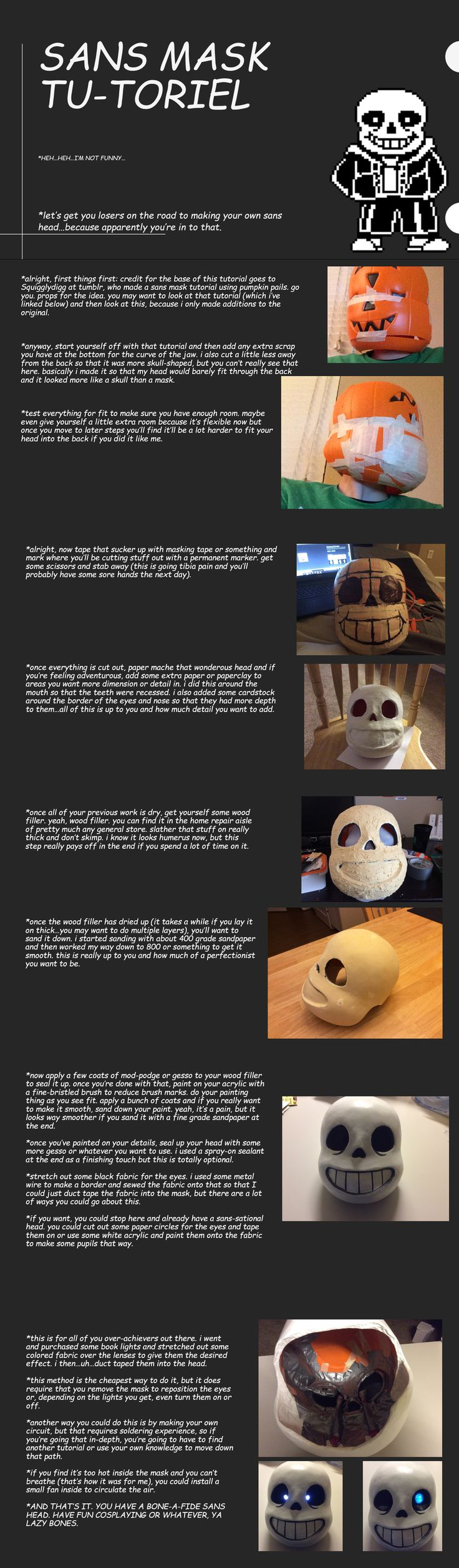 Sans Mask Tutorial by AttackGoose.deviantart.com on @DeviantArt