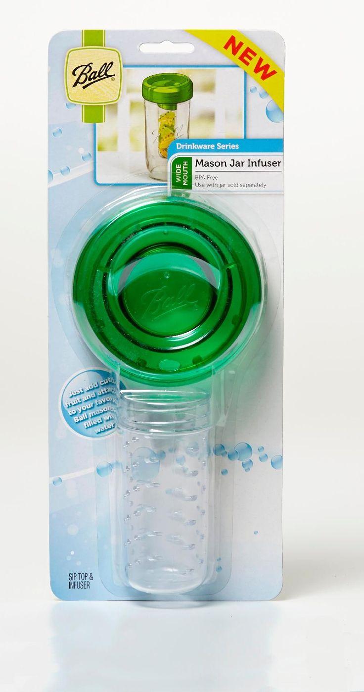 Ball Wide Mouth Mason Jar Infuser