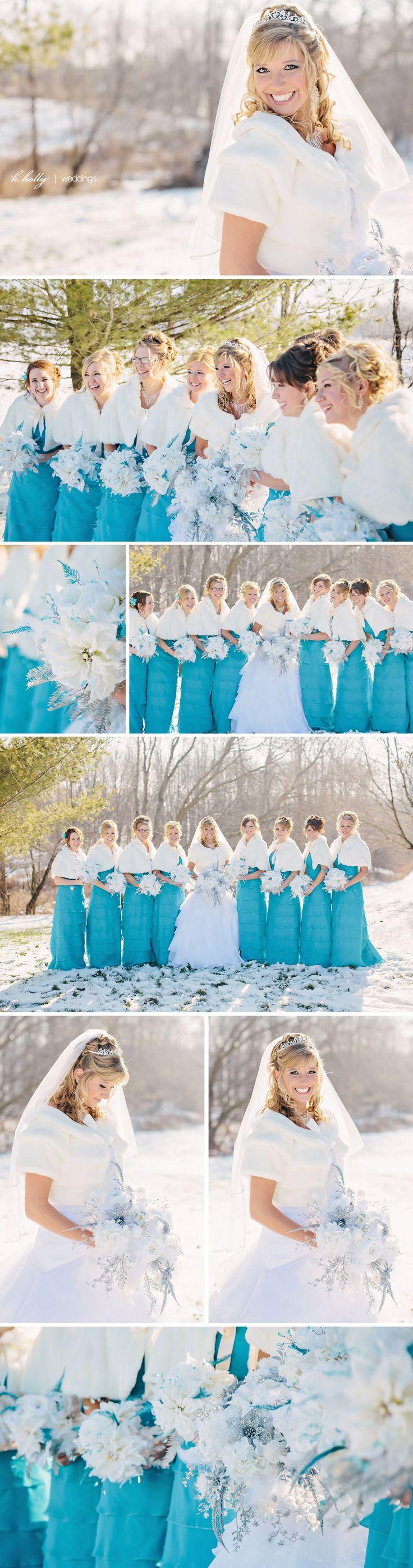 Joy and Ryan :: A Winter Wedding! | k. holly | west michigan wedding photogapher