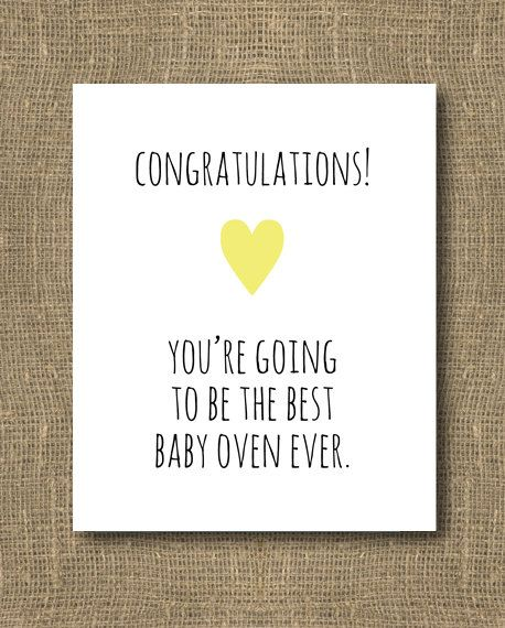 Congratulations Mom To Be Baby Shower Greeting Card