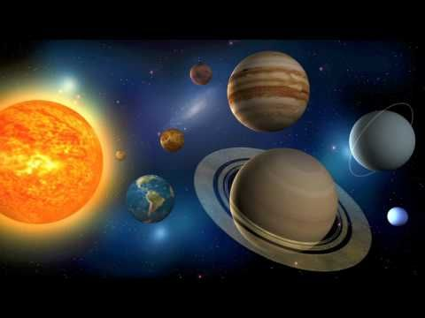 The Planets (in our Solar System). Nice, catchy simple song - and Pluto has been (correctly) excluded. Poor Pluto!