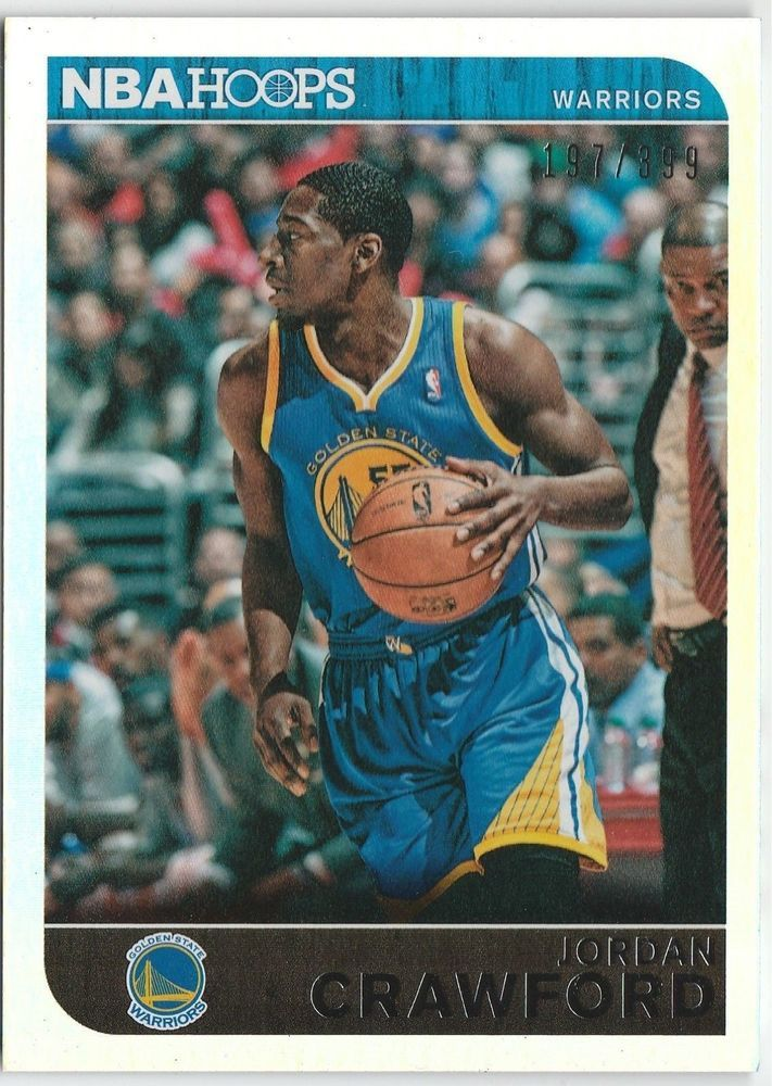 2014-15 NBA Hoops Jordan Crawford 143 Golden State Warriors Silver 197/399 #GoldenStateWarriors