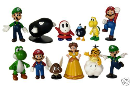 Nintendo Super Mario Bros Exclusive 12 Pcs. Figure Set Japan Import @ niftywarehouse.com #NiftyWarehouse #Mario #SuperMario #Nintendo #VideoGames #Gaming #MarioBrothers