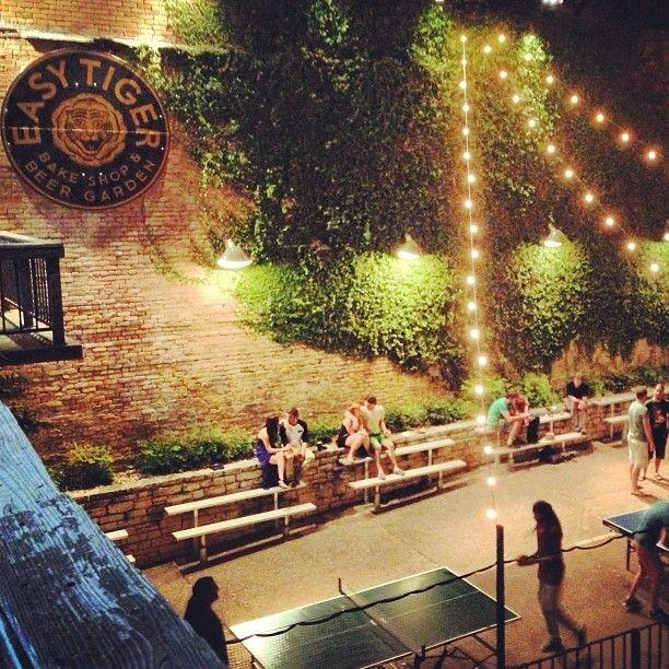 Lovely Beer Garden Decor